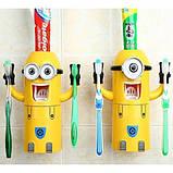 Диспансер для зубных принадлежностей Миньон Original Yellow, фото 4