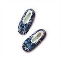 Тапочки флисовые  женские Глория AVON (синие)
