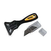 Скребок для краски Master Tool 17-1001 с комплектом лезвий 10 шт