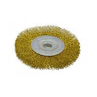 Щетка-крацовка Spitce 18-053 дисковая латунная 115 мм
