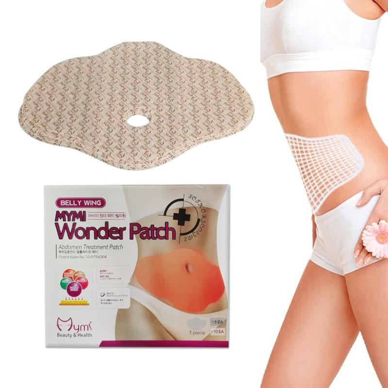 Пластырь для похудения на живот Mymi wonder patch Up Body 5 шт в комплекте (комплект пластырей)