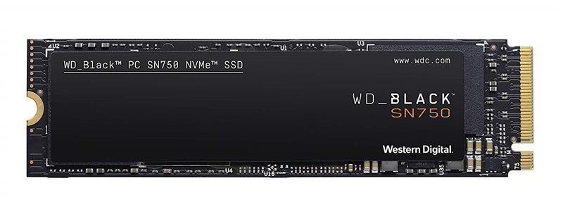 Накопитель SSD 1TB WD Black SN750 M.2 2280 PCIe 3.0 x4 3D TLC (WDS100T3X0C)