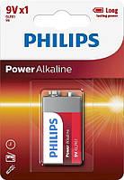 Батарейка Philips Power Alkaline 6LR61 BLI