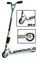 Трюковый самокат Scale Sports Extrem белый Abec-11
