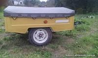 Тент для легкового прицепа МАЗ -8114 Зубрьонок 1.60м х 1.50м рюкзачная ткань