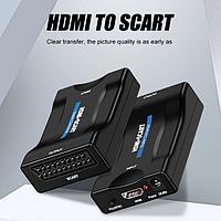 Конвертер HDMI SCART, видео, аудио, до 1080p, 60fps