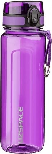 Бутылка для воды UZSPACE U-type 6019 750 мл, фиолетовая