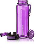 Бутылка для воды UZSPACE U-type 6019 750 мл, фиолетовая, фото 3