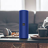 Портативная Bluetooth колонка HOCO Voice sports BS33, синяя, фото 2