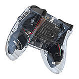 Игровой контроллер Baseus Motion Sensing SW Vibrating Gamepad, прозрачный, фото 3