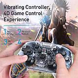 Игровой контроллер Baseus Motion Sensing SW Vibrating Gamepad, прозрачный, фото 8