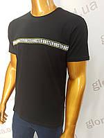 Мужская футболка MSY. 42668-8343(ч). Размеры: M,L,XL,XXL., фото 1