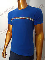 Мужская футболка MSY. 42668-8343(si). Размеры: M,L,XL,XXL., фото 1