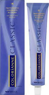 Фарба для волосся Brelil Colorianne Classic 6.01 - Натуральний темно-попелястий блондин, 100 мл