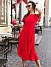 """Платье """"Мечта"""", ткань: шифон в горошек. Размер:42-44 .Разные цвета (2267), фото 8"""
