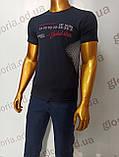 Мужская футболка MSY. 42666-8342(ч). Размеры: M,L,XL,XXL., фото 5