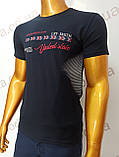 Мужская футболка MSY. 42666-8342(ч). Размеры: M,L,XL,XXL., фото 2