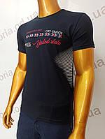 Мужская футболка MSY. 42666-8342(ч). Размеры: M,L,XL,XXL., фото 1