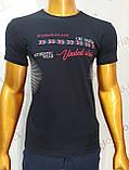 Мужская футболка MSY. 42666-8342(ч). Размеры: M,L,XL,XXL., фото 6