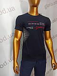 Мужская футболка MSY. 42666-8342(ч). Размеры: M,L,XL,XXL., фото 7