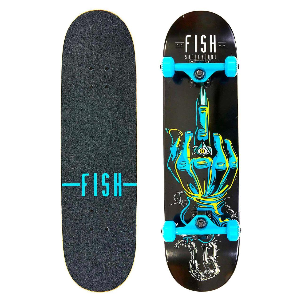 Скейтборд трюкової Fish Skateboards 79 см скейт