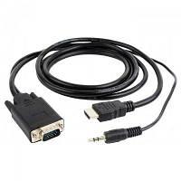 Переходник HDMI to VGA 5.0m Cablexpert (A-HDMI-VGA-03-5M)