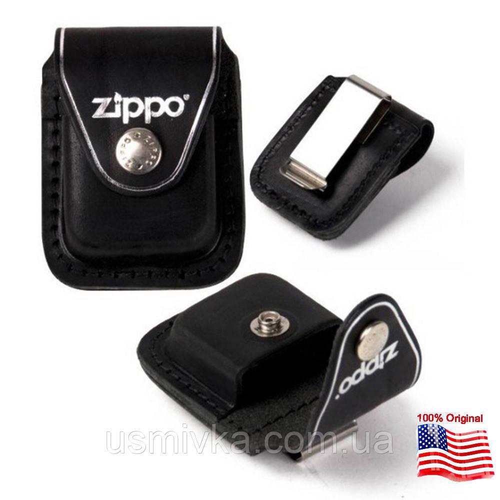 Чехол Zippo с клипсой черный 121633
