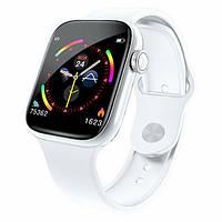 Фитнес-браслет smart band W4, HD full tuch screen, IP67 white