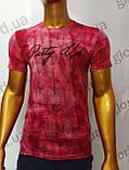 Мужская футболка MSY. 11230-8332(red). Размеры: M,L,XL,XXL.   Яркая молодёжная модель с модным принтом., фото 4