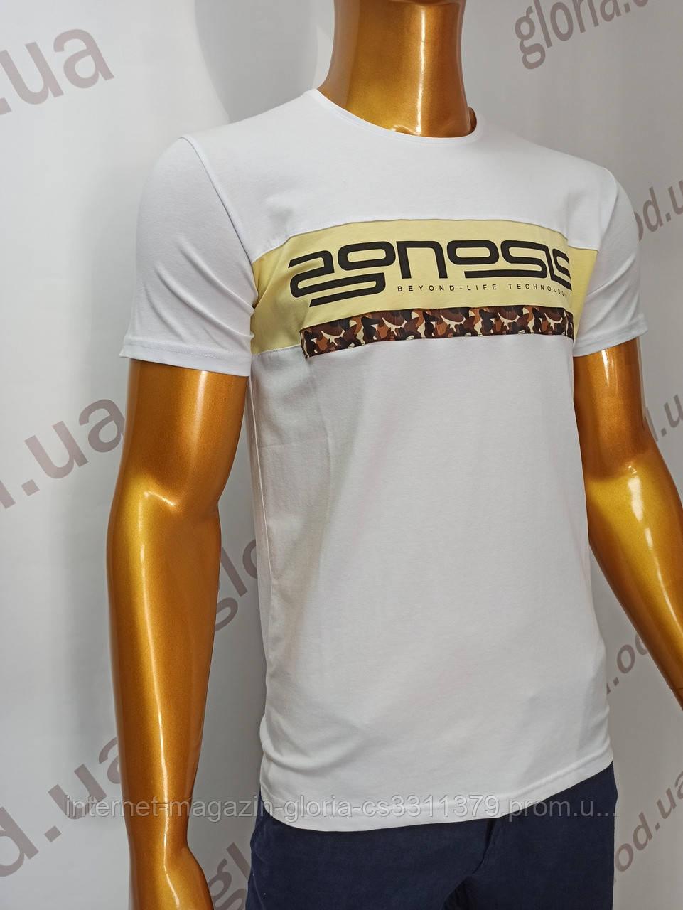 Мужская футболка MSY. 8344. Размеры: M,L,XL,XXL.