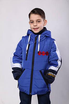 Куртки на хлопчика демісезонні 32 -34-36