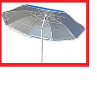 Зонт 220см нахил з напиленням РОМАШКА