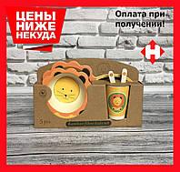 Набір дитячої бамбуковій посуду (великий)
