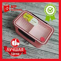 Пищевой контейнер для ланча Tingli Box розовый (EL-246-8)