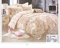 Комплект постельного белья Casa New Fashion Евро 230х250 см Хлопок CasaNewFashion B-1092 (B-1092)