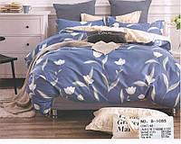 Комплект постельного белья Casa New Fashion Евро 230х250 см Хлопок CasaNewFashion B-1085 (B-1085)