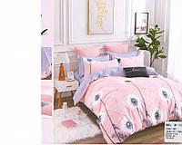 Комплект постельного белья Casa New Fashion Евро 230х250 см Хлопок CasaNewFashion B-1064 (B-1064)