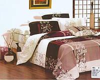 Комплект постельного белья Casa New Fashion Евро 230х250 см Ранфорс CasaNewFashion E-389 (E-389)