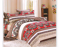 Комплект постельного белья Casa New Fashion Евро 230х250 см Ранфорс CasaNewFashion M-461 (M-461)