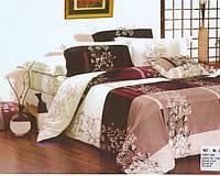 Комплект постельного белья Casa New Fashion Евро 230х250 см Ранфорс CasaNewFashion M-389 (M-389)