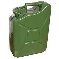 Канистра металлическая 10 литров