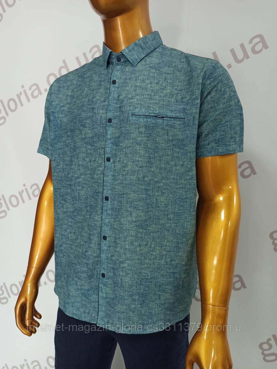 Мужская рубашка Amato. AG  29846(b). Размеры: Батал 2XL,3XL,4XL,5XL.