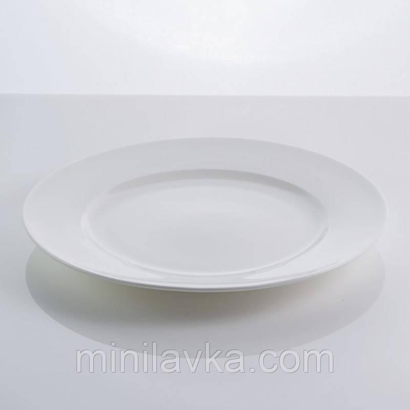 """Тарілка столова з кістяного порцеляни """"Rim"""" Sakura SK-0001 8,5"""""""
