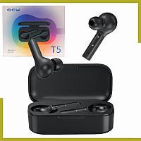 Беспроводные наушники Xiaomi QCY T5 TWS Bluetooth Black - Оригинал
