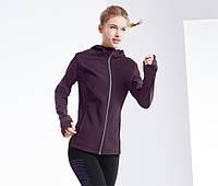 Термо жіноча Куртка Softshell Бордового кольору Tchibo (розмір UK 46), фото 1
