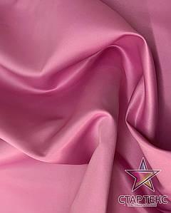 Атлас матовый прокатный Лилово-розовый