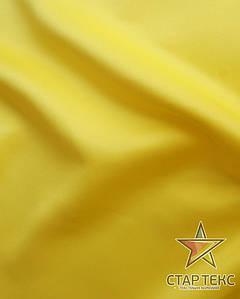 Атлас матовый прокатный Желтый