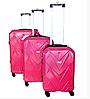 Комплект из 3-х дорожных чемоданов с кодовым замком в разных цветах, фото 6