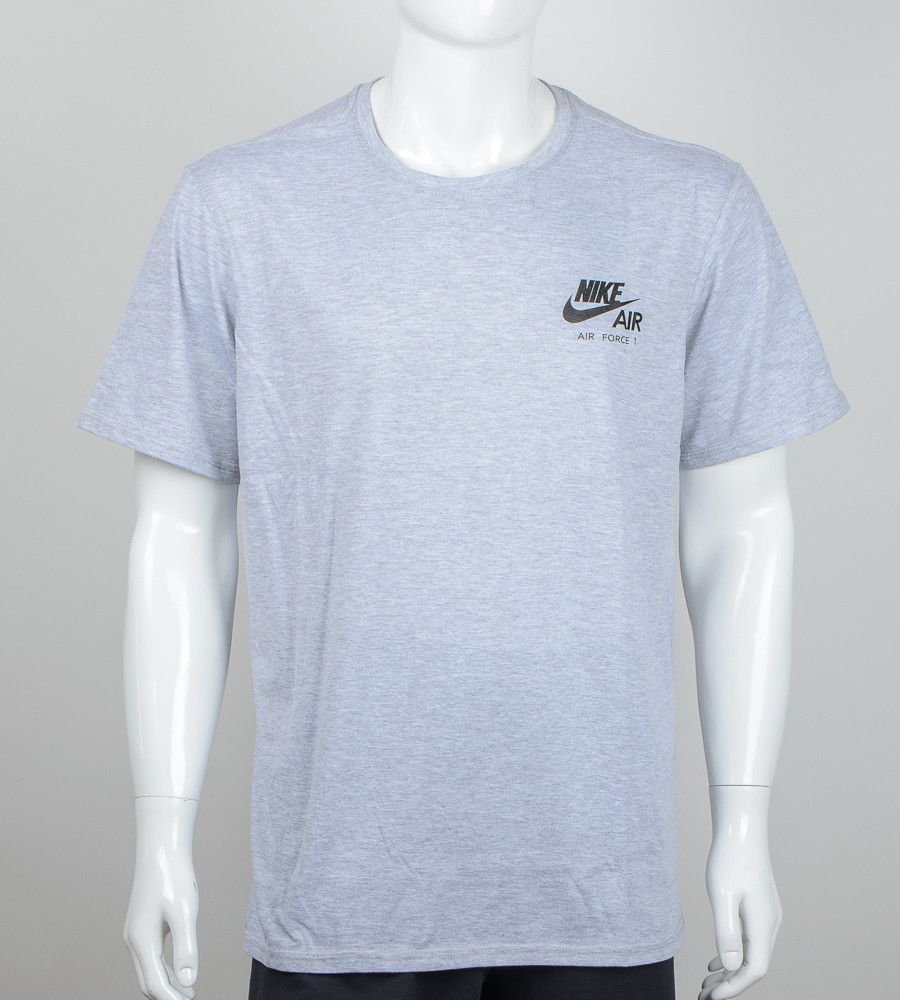 -Р- Футболка мужская батал Nike AIR Серый (М001б), 3XL