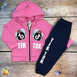 """Костюм с капюшоном """"TikTok"""" для маленькой девочки Размеры: 68,74,80 см (20616-2)"""
